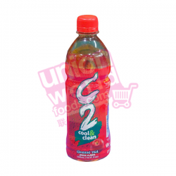 C2 Cool & Clean Green Tea Apple 500ml