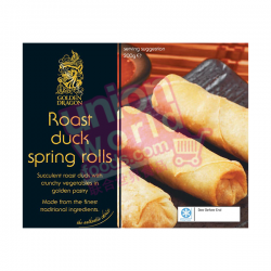 Golden Dragon Duck Spring Roll 200g