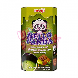 Meiji Hello Panda Biscuits Matcha Green Tea 50g