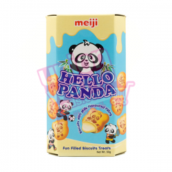 Meiji Hello Panda Biscuits Milk 50g