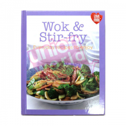 Wok & Stir Fry Chinese Hardcover Cooking Book