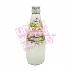 V-Fresh Young Coconut Juice with Pulp 6x290ml