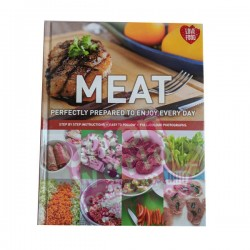 Meat Hardcover Cooking Book