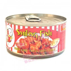 SF Baby Clams & Chilli 70g