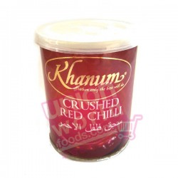 Khan Crushed Red Chilli 100g
