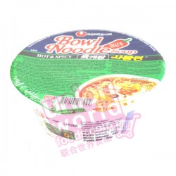 Nong Shim Hot & Spicy Noodle Bowl 86g